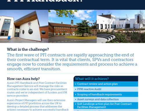 PFI Handback and Post Contract Facilities Management Services