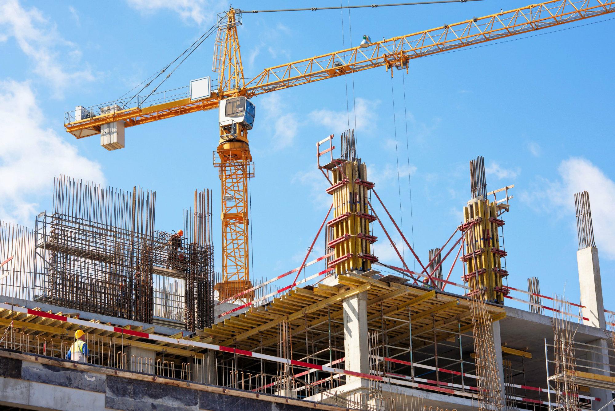 construction sector, net zero