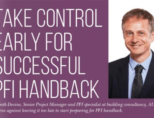 Take control early for a successful PFI Handback